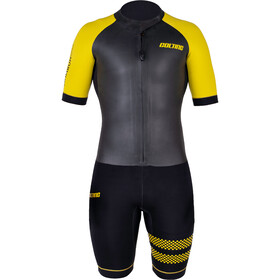Colting Wetsuits Swimrun Go Märkäpuku Naiset, black/yellow